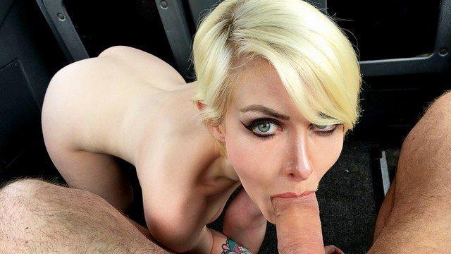 lustful cute blonde porn