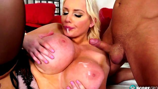 Alisha Laine German Interracial DP Interracial Monster cock