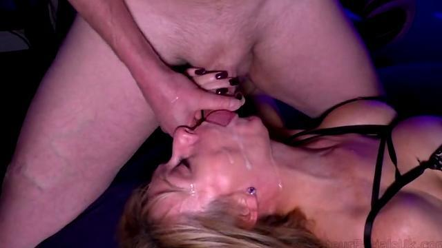 amateur wife blowjob titjob and cumshot