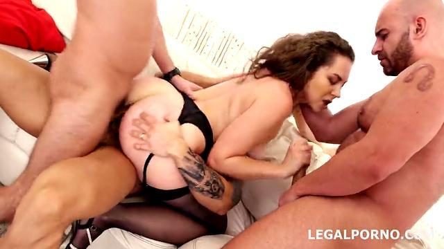 Double Penetrated Sex