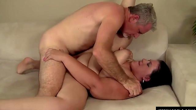 going to the step-son's room and having a blowjob