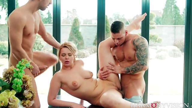 Great Double Penetrated!