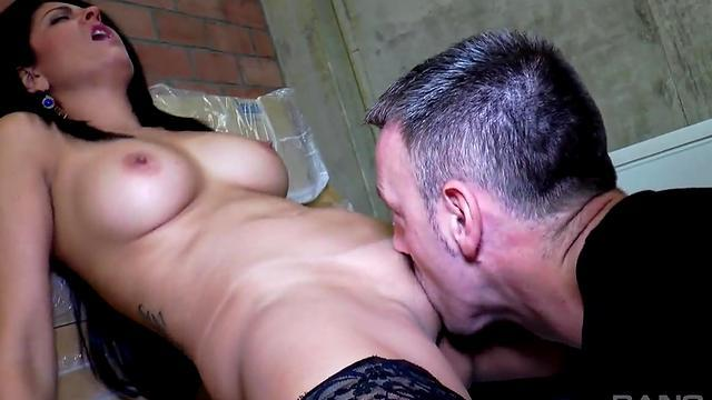 passion school girl fuck in bed room