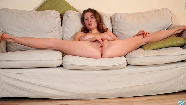 Busty hairy amateur big tits